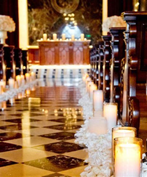 wedding aisle decorations with candles wedding theme ideas weddings romantique