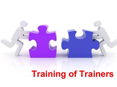 certified trainer of trainers