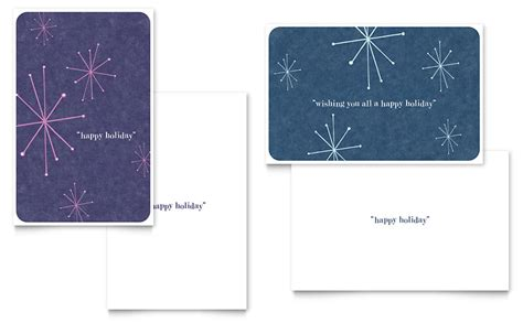 publisher birthday card template christmas lights greeting card