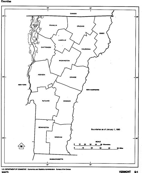 vermont map coloring page vermont free map