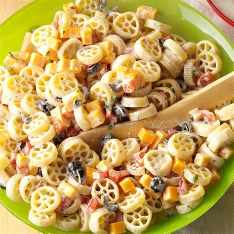 cold pasta recipe wheely pasta salad recipe taste of home