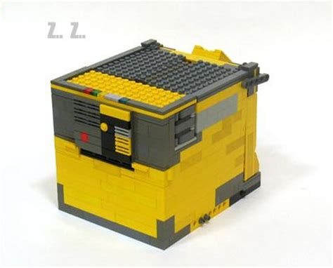 Transform Robot Brick transforming lego wall e
