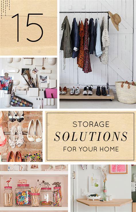storage solutions 15 clever storage solutions design sponge