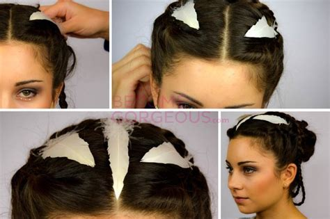 Hunger Hairstyles by Katniss Everdeen Wedding Updo Tutorial Crazyforus