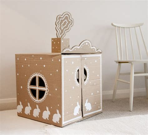 cardboard box house cardboard box house cardboard and cardboard furniture pinterest