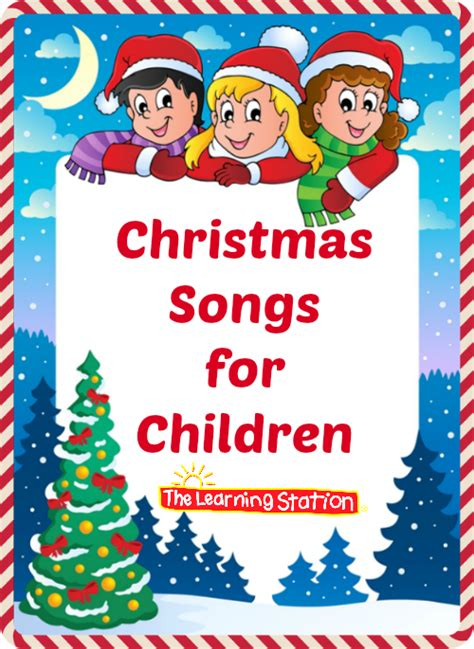 christmas songs for children with lyrics the learning
