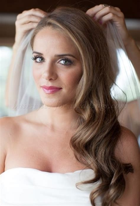 long wedding hairstyles hair down bridal hairstyle