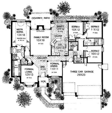 european style house plan 6 beds 4 00 baths 4229 sq ft european style house plan 4 beds 2 5 baths 2333 sq ft