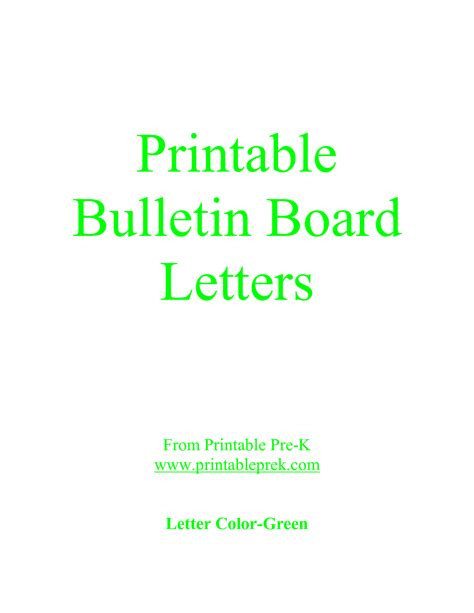 Printable Letters For Bulletin Board | letter printable images gallery category page 17