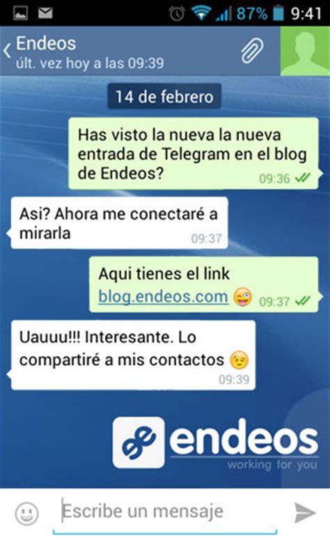 imagenes de conversaciones de amor telegram la nueva app de mensajer 237 a instant 225 nea blog endeos