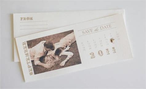 vintage wedding free vintage save the date calendar