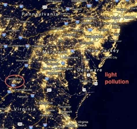 usa lights lighting pollution facts lighting xcyyxh