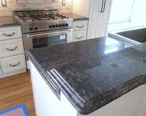 Steel Gray Granite Countertops by Steel Grey Granite Home Design Ideas Pictures Remodel And Decor