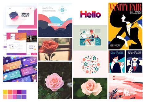 18 graphic design color mood images graphic design color design mood 7 motives to create mood boards tubik studio