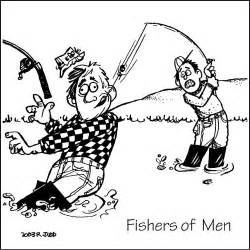 Fishers Of Men Coloring Pages Free Sketch Page sketch template
