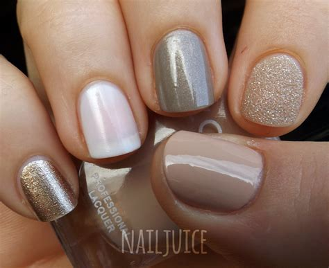 neutral nail colors nail juice nail mail pt 2 golds neutrals