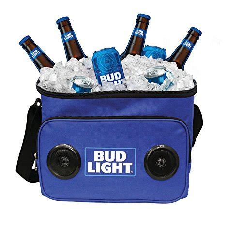 bud light recliner with cooler bud light soft cooler bluetooth speaker portable travel