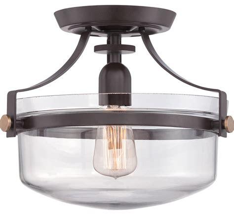 farmhouse flush mount lighting quoizel lighting upps1713wt uptown penn station western