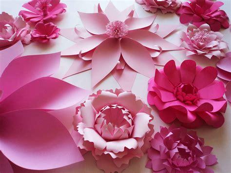 moldes de flores de papel molde de petalas de flor de papel gigante pesquisa