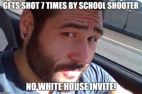 Obama Shooting Meme - image tagged in hero obama gun control imgflip