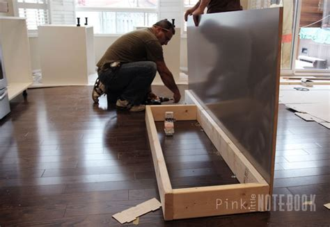 installing ikea base cabinets without legs creating an ikea kitchen island pink little notebookpink