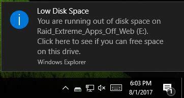 drive c full how to fix c drive full error message windows 10