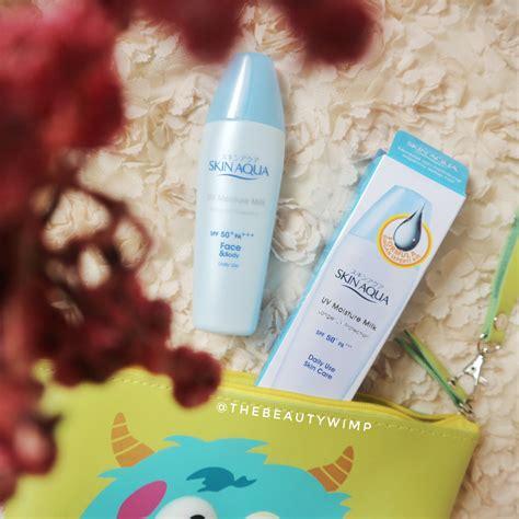 Harga Loreal Aqua Sunscreen skin aqua uv moisture milk spf 50 pa 40g daftar harga