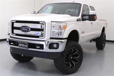ford  king ranch custom  diesel lift kit fox