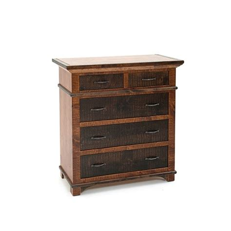 glen falls 5 drawer gentlemen s chest with split top