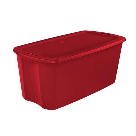 sterilite 50 gal storage tote case of 4 18496604 the