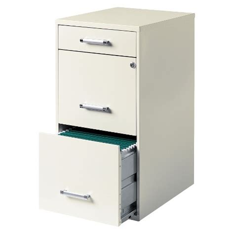 Three Drawer File Cabinet Hirsh 3 Drawer File Cabinet Steel Target