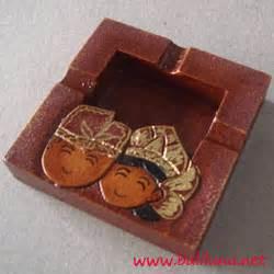 Kotak Tisu Minuman Merah souvenir pernikahan asbak 01 souvenir pernikahan khas bali