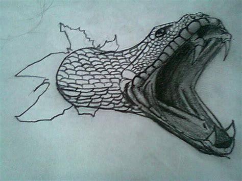 imagenes de serpientes para dibujar a lapiz como dibujar una serpiente en 3d taringa