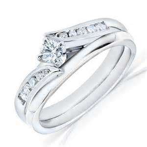 white gold wedding rings half carat wedding ring set in white gold on sale jewelocean