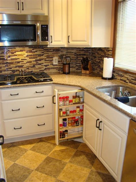 Biscotti Kitchen Cabinets Biscotti Color Cabinets With Interesting Backsplash For The Home Photos