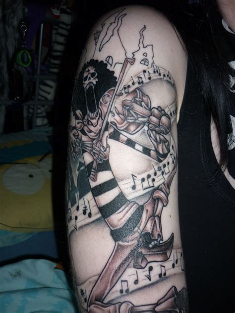 one piece tattoo brook from one tattoos pieces