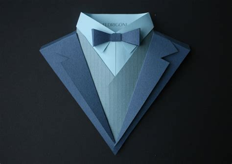 Paper Work20 Fubiz Media Paper Tuxedo Template