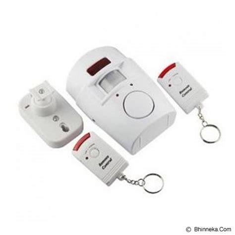Jual Alarm Rumah Sensor Gerak jual uniqtro alarm rumah sensor gerak remote murah bhinneka