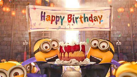 happy birthday minion images happy image gallery happy birthday minions