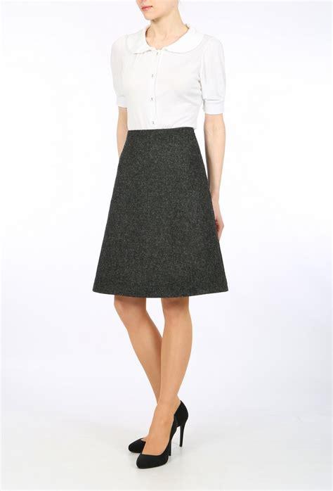 a line grey skirt redskirtz