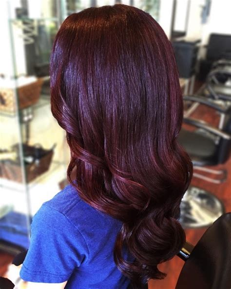 Black Cherry Red Hair Dyes | black cherry hair color ideas for 2017 new hair color
