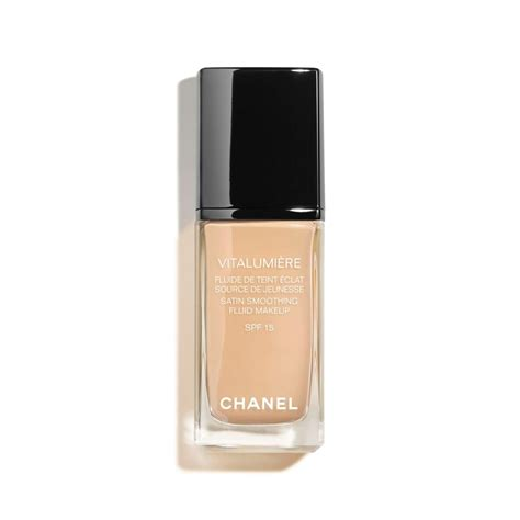Chanel Le Blanc Whitening Spf 30 Fluid Foundation vitalumi 200 re satin fluid makeup spf 15 makeup chanel