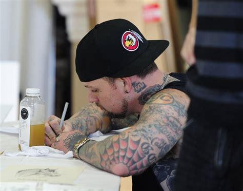 benji madden tattoos benji madden s tattoos designs