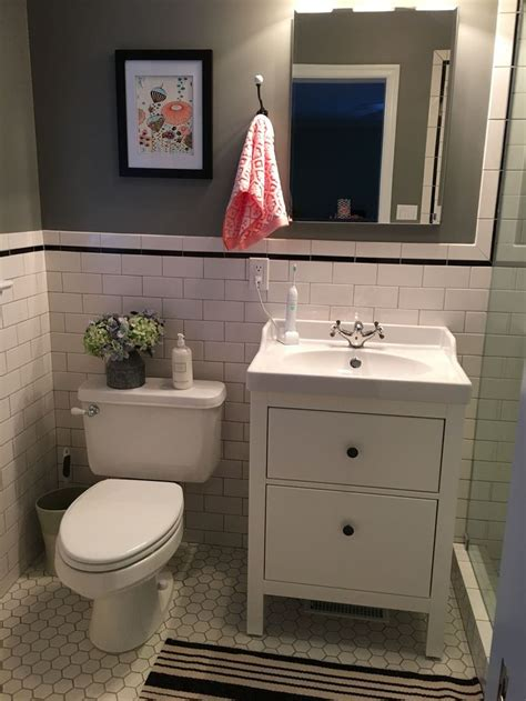 ikea bathroom vanity ideas the 25 best small basement bathroom ideas on pinterest