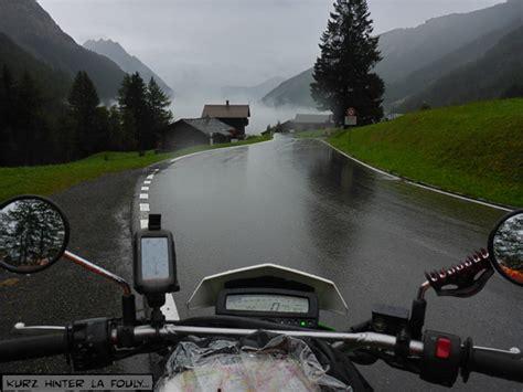 Motorradfahren Im Regen by Motorradreisen 214 Sterreich
