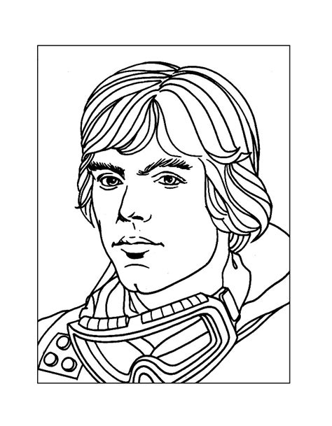 luke skywalker coloring page wars coloring pages coloring rocks