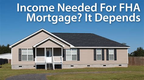 how much debt can you have to buy a house guide to fha home loans how much income income do you need good assurance