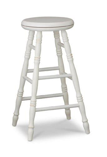 24 inch white swivel bar stools carolina cottage 24 inch swivel top verona stool antique