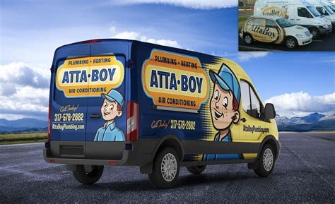 Attaboy Plumbing by Before After Portfolio Kickcharge Creative