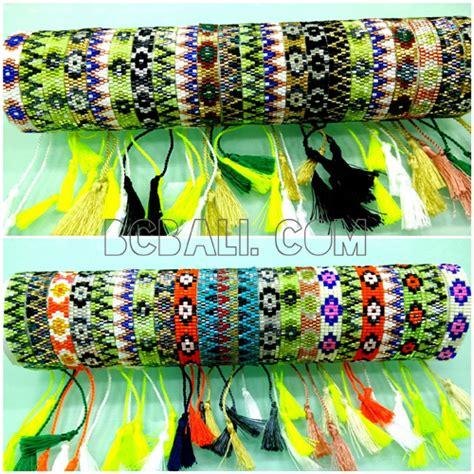 Tassel Motif bali tassel bracelets motif small handmade
